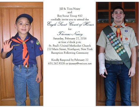 Tom Neary Eagle Invitation